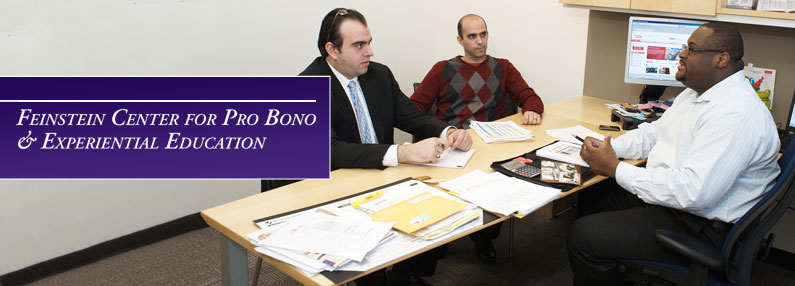 Feinstein Center for Pro Bono & Experiential Education