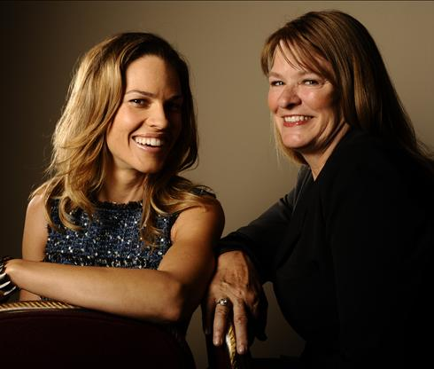 Hilary Swank & Betty Anne Waters
